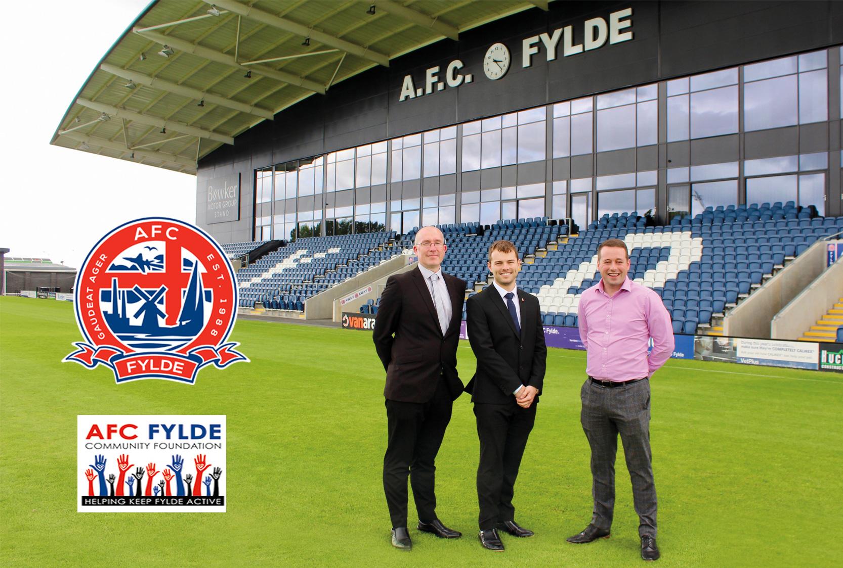 AFC Fylde Football ground